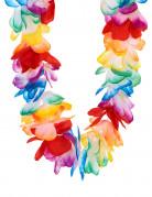 Halskrans Hawaii multifarvet luksus