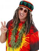 Halskrans med cannabisblade