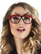 Mariehøne briller voksen