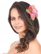 Hårspænde blomster lyserød Hawaii