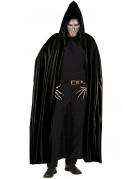 Sort kappe med hætte voksen Halloween
