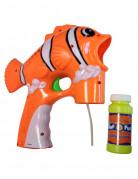Klovnfisk-formet sæbeboblepistol i plastic