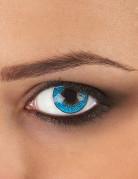 Kontaktlinser fantasy blå 3 nuancer voksen