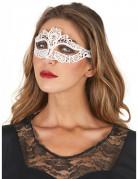 Maske hvide blonder kvinde