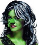 Grøn heksenæse med vorte