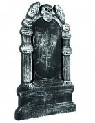 Dekoration skelet gravsten Halloween