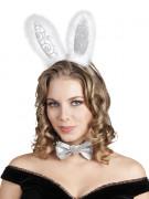 Sølv kanin kit - voksen