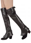 Sorte skoovertræk - kvinde