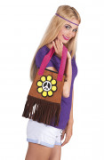Hippie Flower Power taske