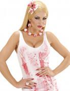 Kit smykker med blodskudte øjne til kvinder Halloween