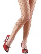 Strømpebukser net røde til kvinder