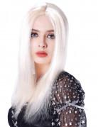 Paryk lang blond til kvinder - 45 cm