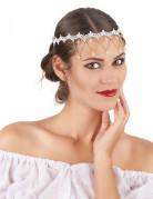 Hvid Hovedbeklædning Kvinde