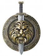 Gladiatorskjold og sværd