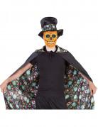 Vendbar día de los muertos-kappe voksen halloween