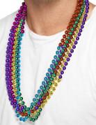 6 farverige halskæder