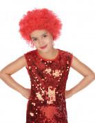 Rød discoparyk barn