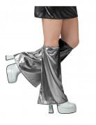 Benvarmere disko grå sølv