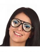 Briller med charmerende kvindeøjne