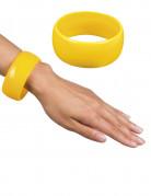 Armbånd bredt gult til kvinder