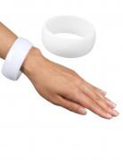Armbånd bredt hvidt til kvinder