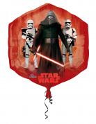 Ballon aluminium rød og blå Star Wars VII™