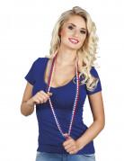 Halskæder med perler til at heppe på Frankrig