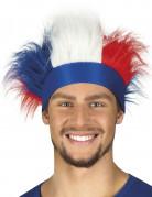 Pandebånd med hår trefarvet Frankrig til voksne