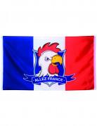 Fransk flag fan Allez France 90 x 150 cm