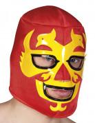 Rød Wrestlingmaske Voksen