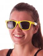 Briller neon gule til voksne