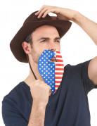 Skæg amerikansk fan voksen