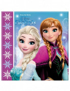 20 Papirservietter - Frost™ med snefnug 33 cm