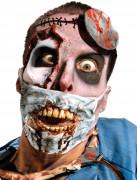 Maske kirurg zombie til voksne Halloween
