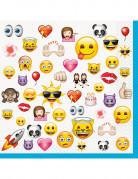 16 Store Emoji™ servietter