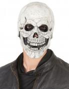 Latexmaske skelet voksen