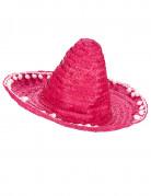 Pink sombrero med