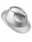 Sølvfarvet borsalino