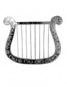 Harpe lille sølvfarvet 28 cm