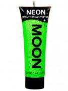 Gel ansigt og krop grøn pailette UV 12 ml Moonglow