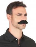 Stort sort moustache til voksne