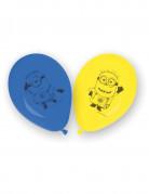 8 Latexballoner lovely Minions™