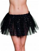 Tutu sort med glimmerstjerner til kvinder