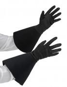Handsker mellemlange sorte til voksne
