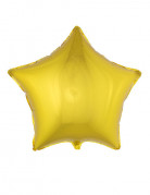 Ballon aluminium stjerne guld 70 cm