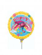 Lilla ballon Poppy Trolls™ 23 cm