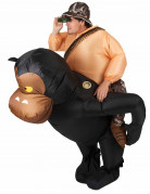 Kostume oppustelig abe til voksne