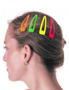 4 hårspænder flere farver