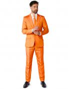 Jakkesæt Mr. Solid orange til mænd Suitmeister™