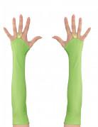 Lange grønne ærmer neon til kvinder